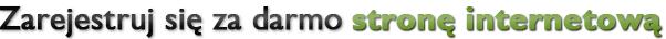 Rejestracja strony internetowej